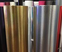 Chrome carbon fiber vinyl
